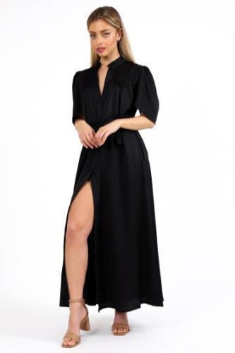 שמלת ערב קלואי שחורה
