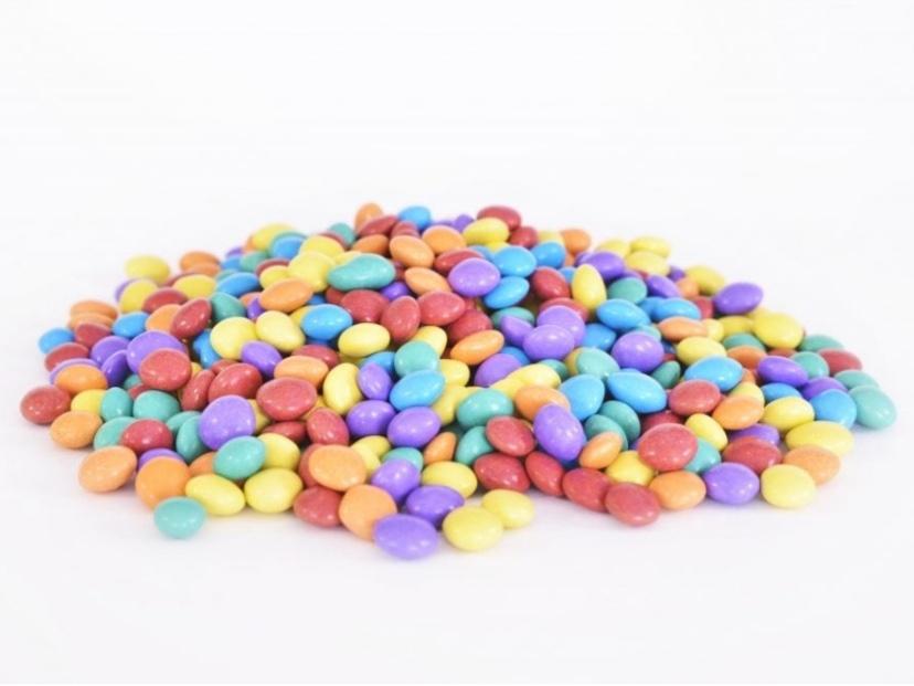 Сахарная посыпка цветная чечевица 250гр
