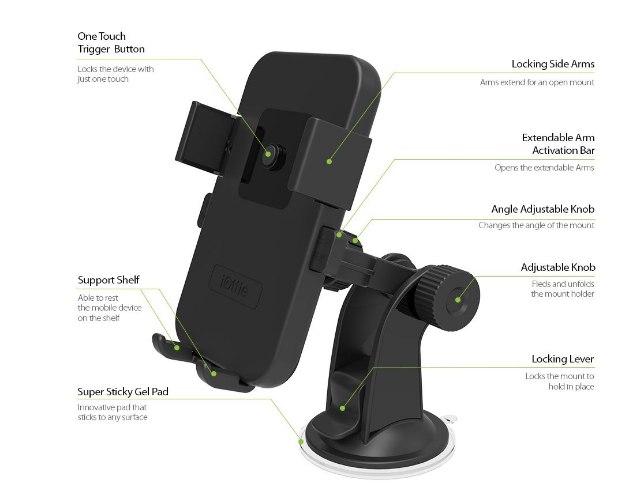 מעמד ועריסה לרכב iOttie Easy One Touch XL