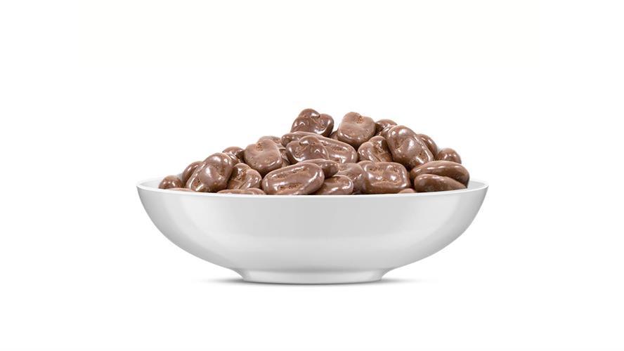 פקאן בציפוי שוקולד חלב 100 גרם