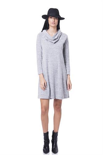 שמלה רייבן אפור בהיר