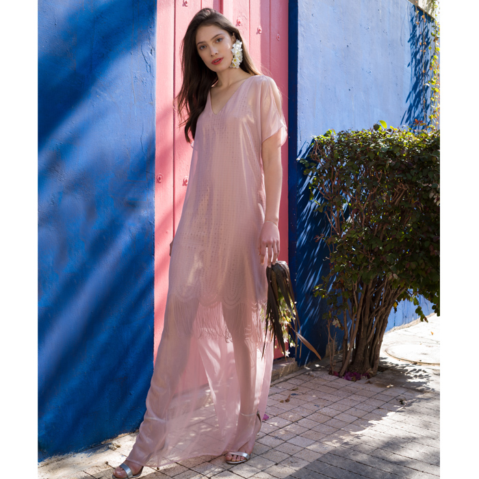שמלת קראון וורודה מבריקה