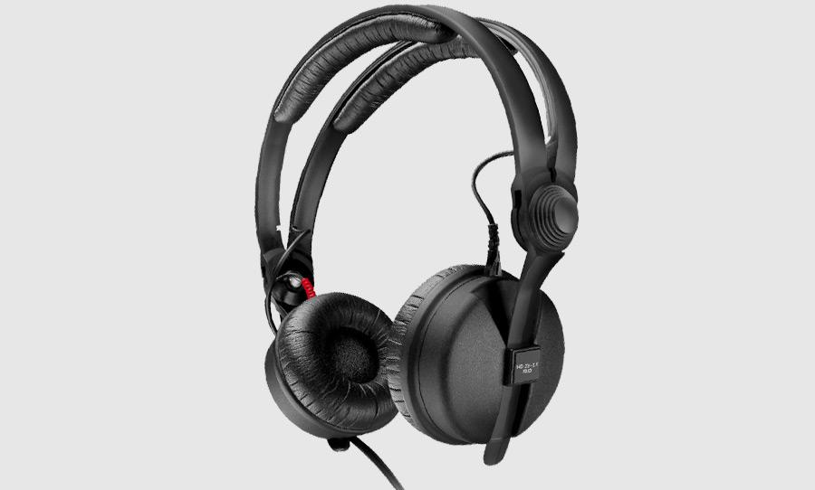 אוזניות חוטיות Sennheiser HD25, אוזניות ה- DJ והמוניטור המקצועיות והפופולאריות ביותר מבית Sennheiser