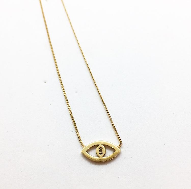 שרשרת עין זהב