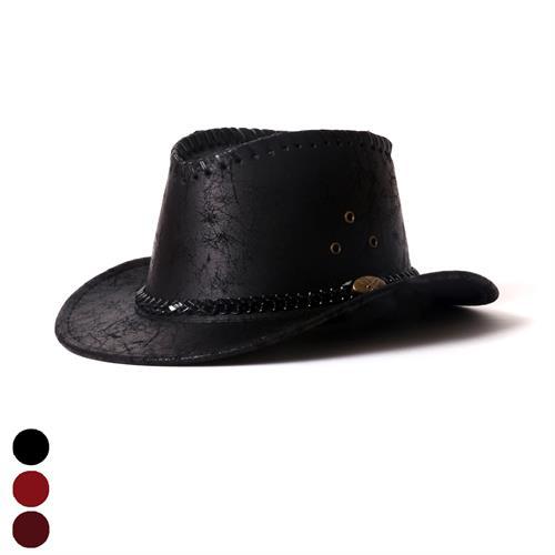 כובע קאובוי עור ילדים
