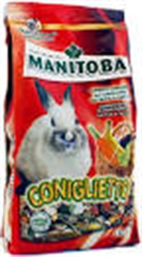 """מניטובה מזון סופר פרימיום לגורי ארנבים 2.5 ק""""ג"""