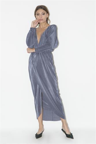 שמלת לורן אפורה