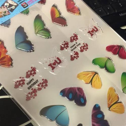 Butterfly  Transfer sheet