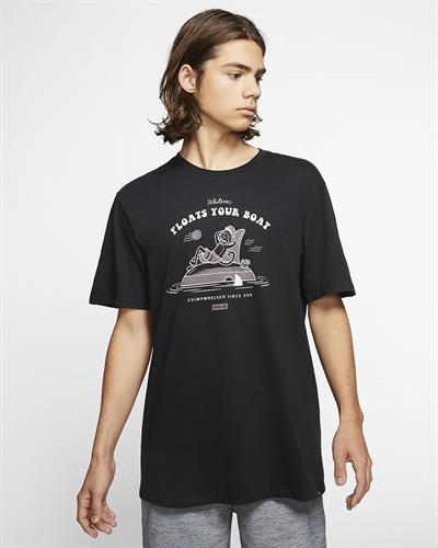 HURLEY  CHIMPWRECKED T-SHIRT- BLACK