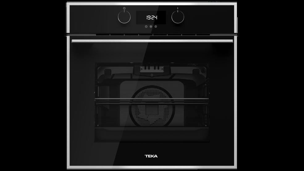תנור בנוי Teka HLB840 תקה זכוכית שחור עם מערכת ניקוי הידרוקלין