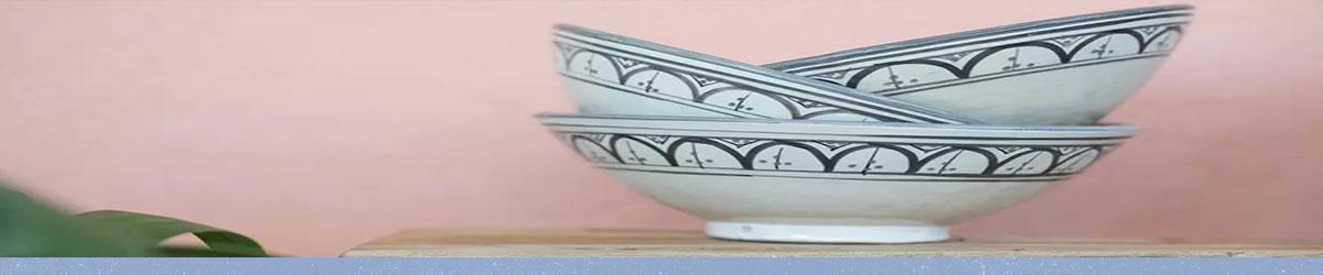 כלי קרמיקה - פנטזיה מרוקאית