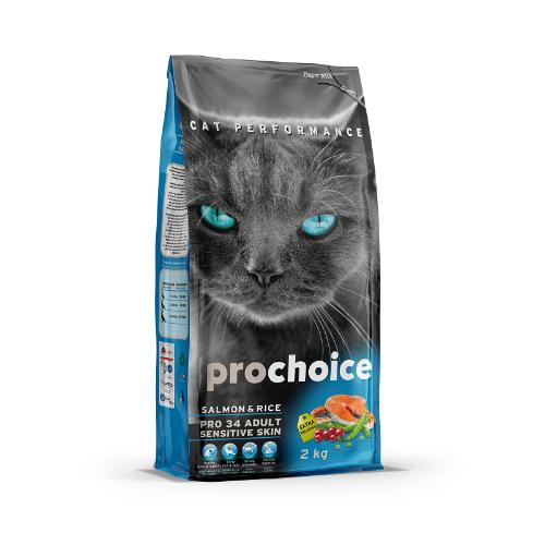 """פרו צ'ויס סלמון לחתול 2 ק""""ג - PRO CHOICE SALMON 2KG"""