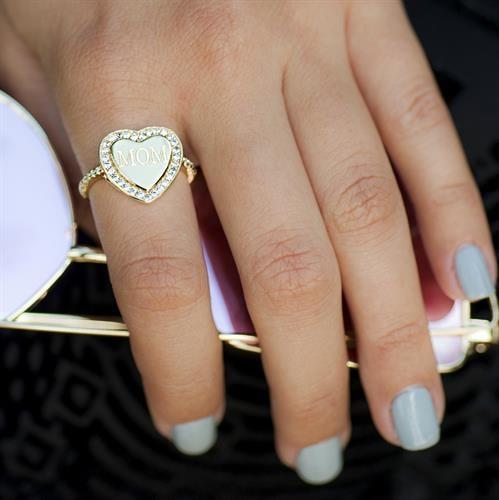 טבעת לב שייני