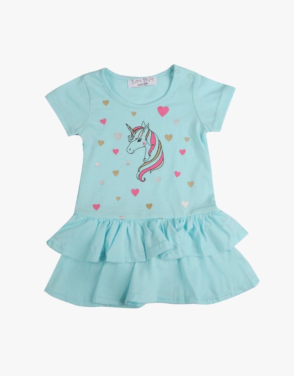שמלה לתינוקות עם חד קרן