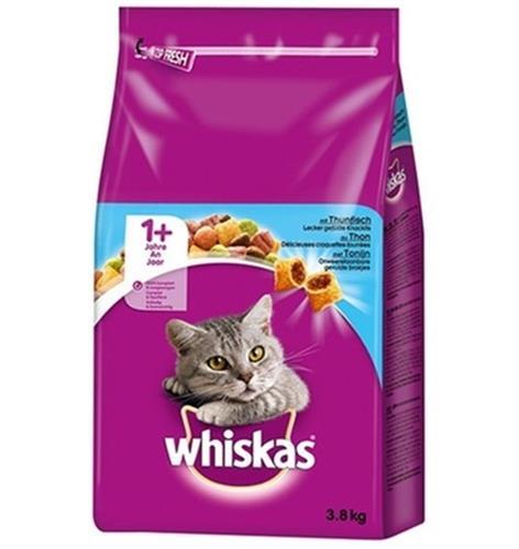 """וויסקס מזון לחתולים בשר טונה 3.8 ק""""ג"""