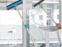 מגב מוט טלסקופי יעיל במיוחד לניקוי חלונות