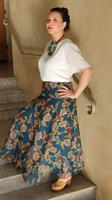 חצאית שיפון מקסי