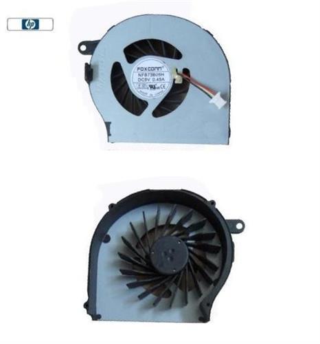 מאוורר למחשב נייד HP G72 Laptop CPU Cooling FAN NFB73B05H , 606013-001