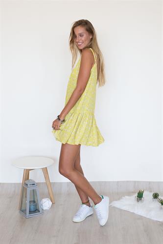 שמלת סאמר צהוב שחפים