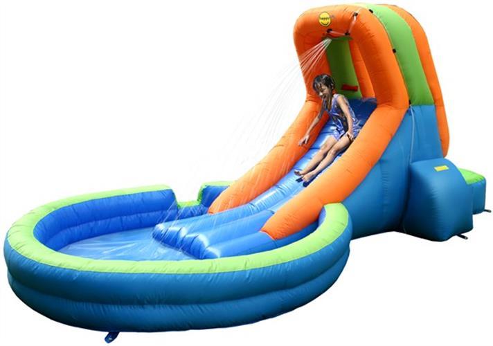 מגלשת מים לקטנטנים הפי הופ - 9042 - Water Slide Pool HappyHop