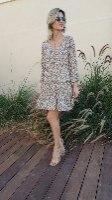 שמלה קומות לינוי ALMHA