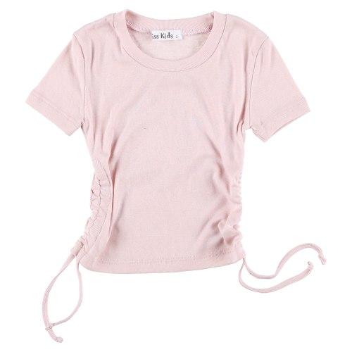 חולצת כיווצים MISS KIDS קרם - 2-18