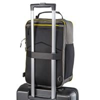 תיק גב / תיק צד עליה למטוס Cabin Max Manhattan Stowaway BLACK YELLOW  40x25x20