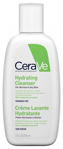 Cerave תחליב ניקוי מזין לעור רגיל עד יבש 88 מל