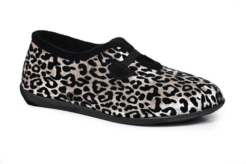 נעלי בית נוחות וחורפיות לנשים דגם - RO-9362