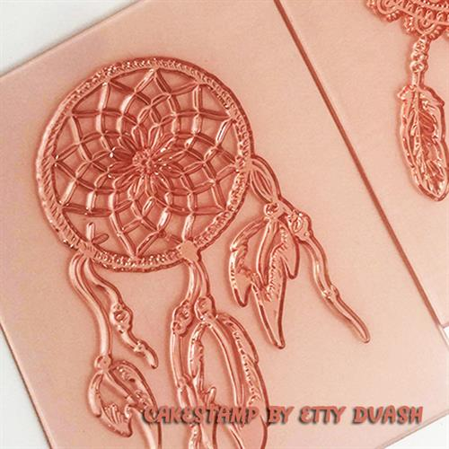 Indian Dream catcher stamp