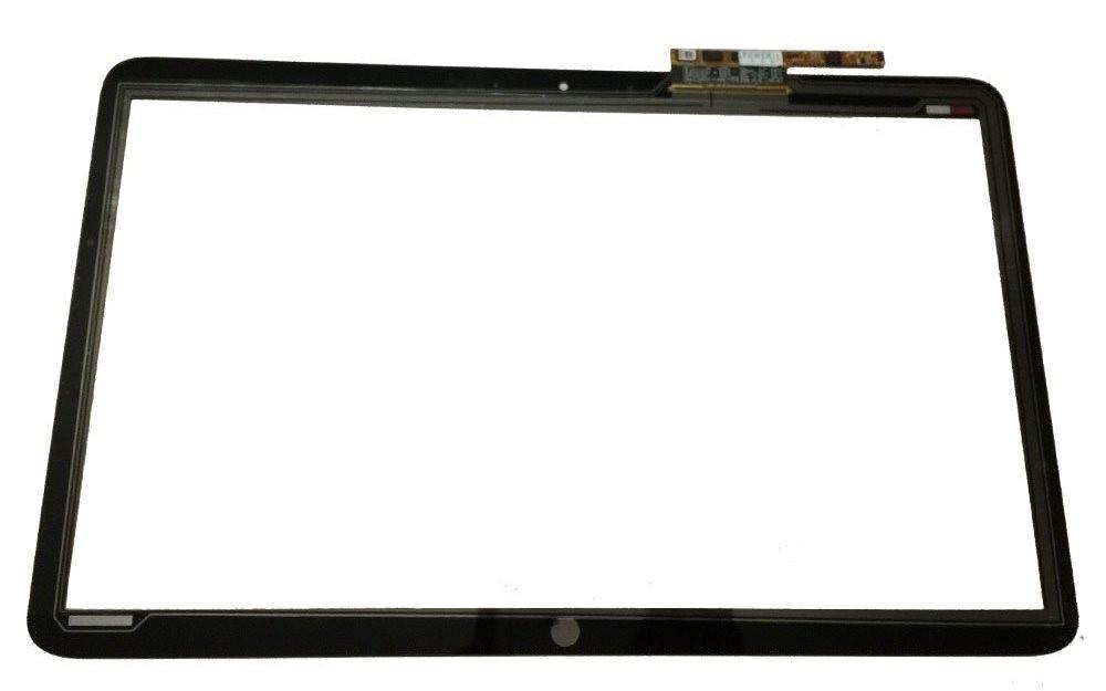 מסך מגע דיגיטייזר למחשב נייד (לא מסך) Hp Envy 17.3 Touchsmart Touch Screen Digitizer Panel Glass Repair Replacement