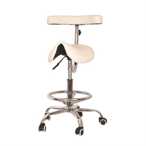 כסא אוכף+משענת