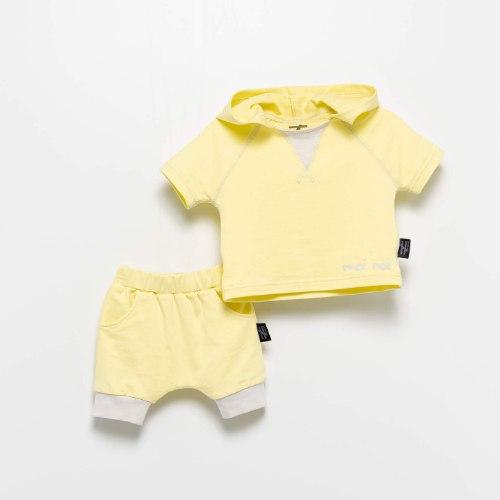 חליפת קפוצ׳ון בננה MOI NOI מידות - 6-24 חודשים