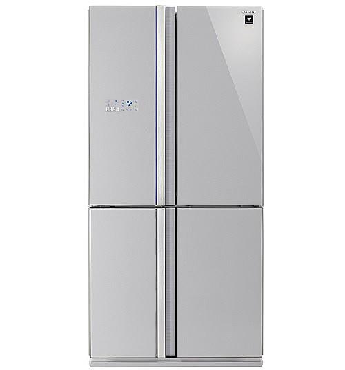 מקרר מקפיא תחתון Sharp SJFP85VSL 613 ליטר שארפ