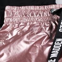 STEVE MADDEN חליפה שחור ורוד מידות 4-16