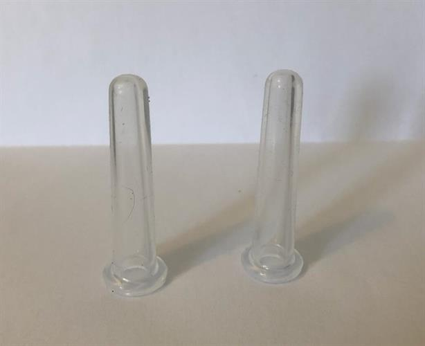 זוג כוסות רוח סיליקון - קטנטנות