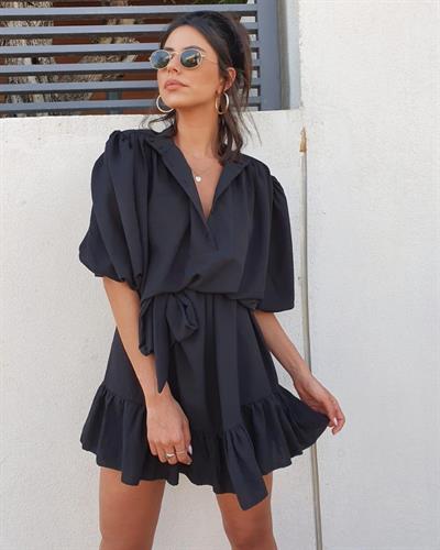 שמלת ג׳ודית - שחורה