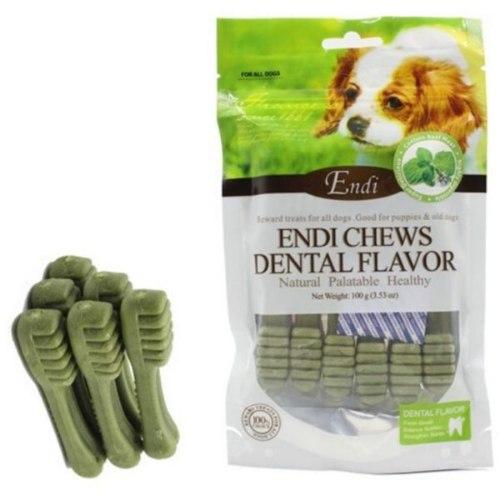 חטיף לכלבים אנדי מברשת שיניים מנטה 100 גרם