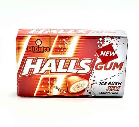Halls Gum בטעם פירות הדר