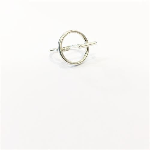 טבעת ריי זרת כסף