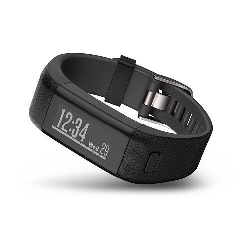 צמיד כושר VivoSmart HR Plus Garmin, מעקב אחר פעילות גופנית באמצעות GPS בשילוב עם טכנולוגיית מד דופק