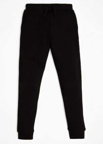 מכנס טרנינג שחור GUESS לוגו מנצנץ בכיס - בנות - 7-16 שנים