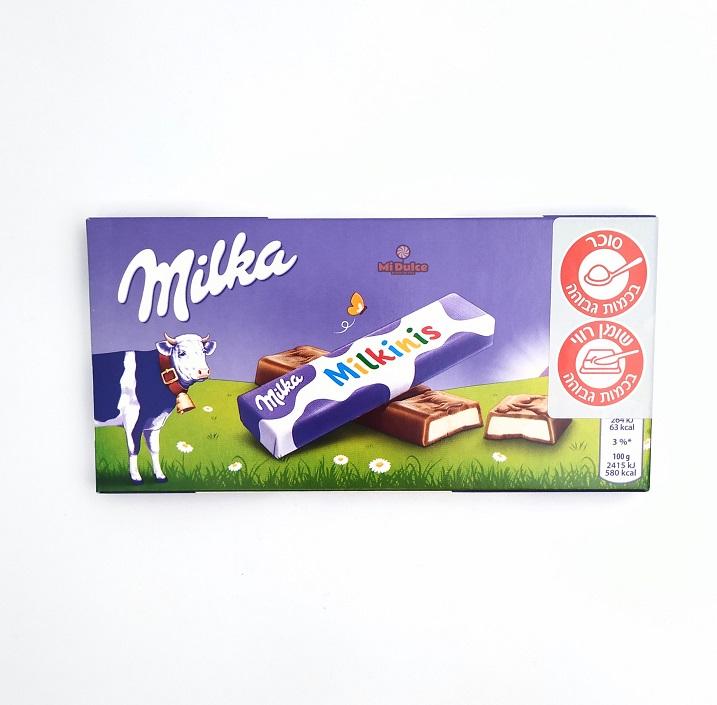 Milka Milkinis אצבעות