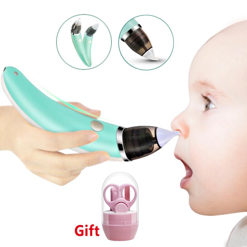 שואב נזלת חשמלי לתינוק