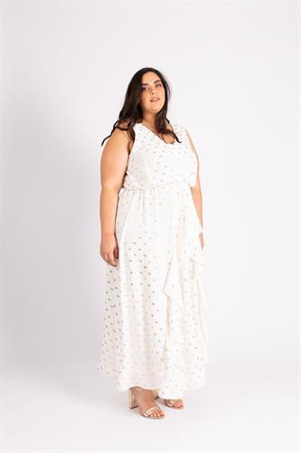 שמלת גרייס לבנה