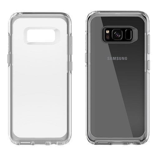 מגן לסמסונג גלקסי S8 אוטרבוקס סימטרי שקוף Otterbox symmetry Samsung galaxy S8 Skin