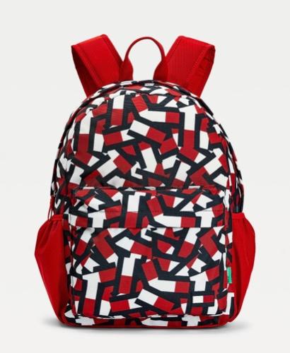 Tommy Hilfiger תיק בית ספר אדום  BACK TO SCHOOL