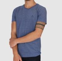 גברים | GANT SLIM T-SHIRT BLUE