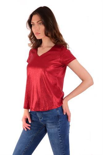 חולצה ליבי אדום