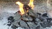 """פחם למנגל / גריל קברצ'ו בלנקו פחמים GRILL - שק של 12 ק""""ג"""